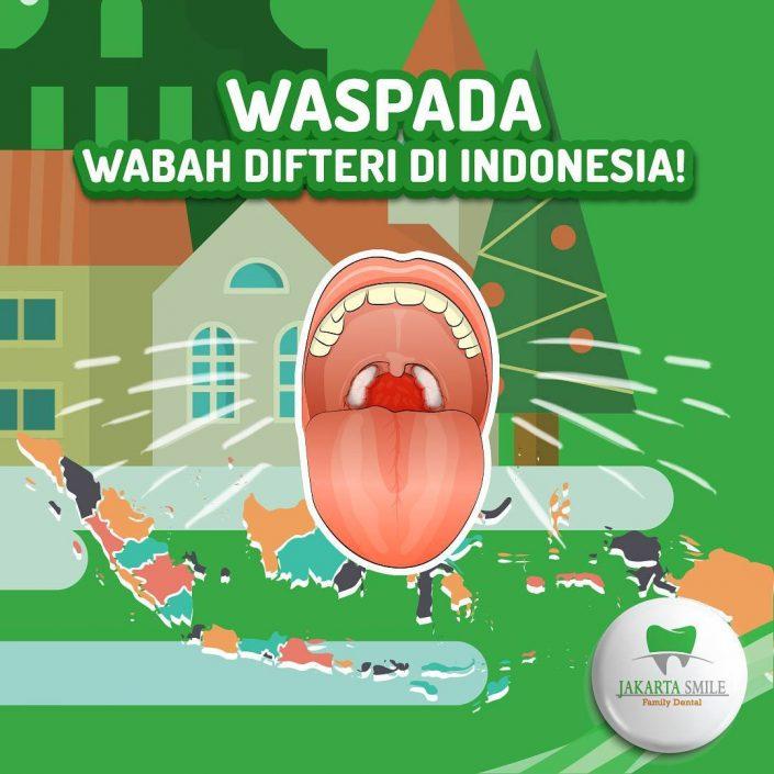 Waspada Wabah Difteri di Indonesia